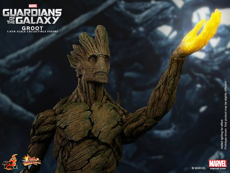 Hot Toys Guardians of the Galaxy Groot 003