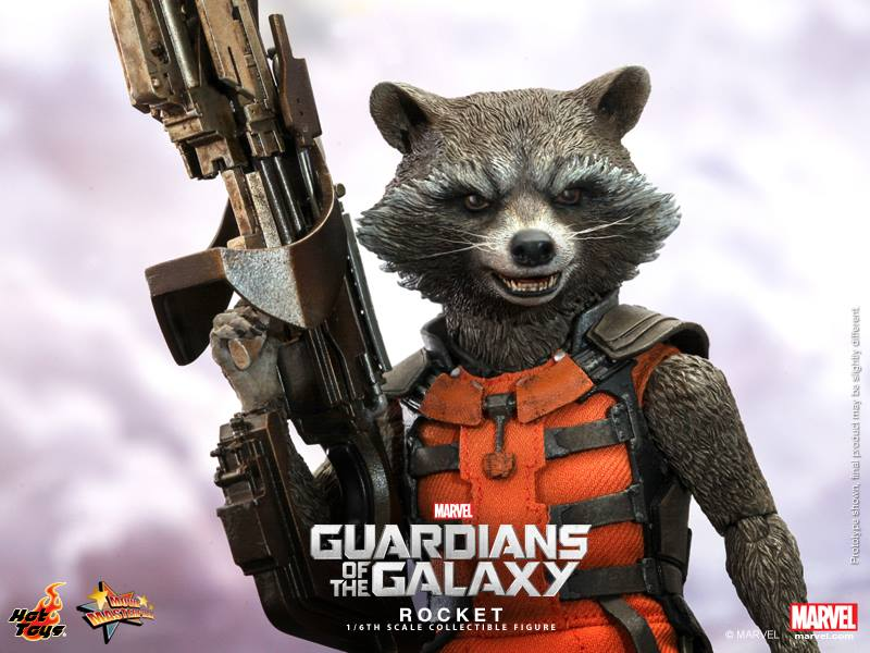 Hot Toys Guardians of the Galaxy Rocket Raccoon