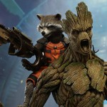 Hot Toys Guardians of the Galaxy Rocket Raccoon and Groot Set