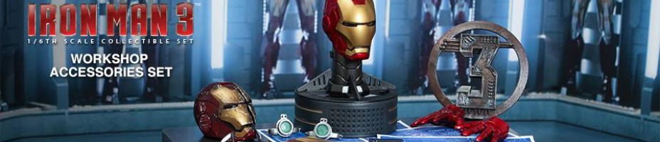 Hot Toys Iron Man 3 Work Shop 001