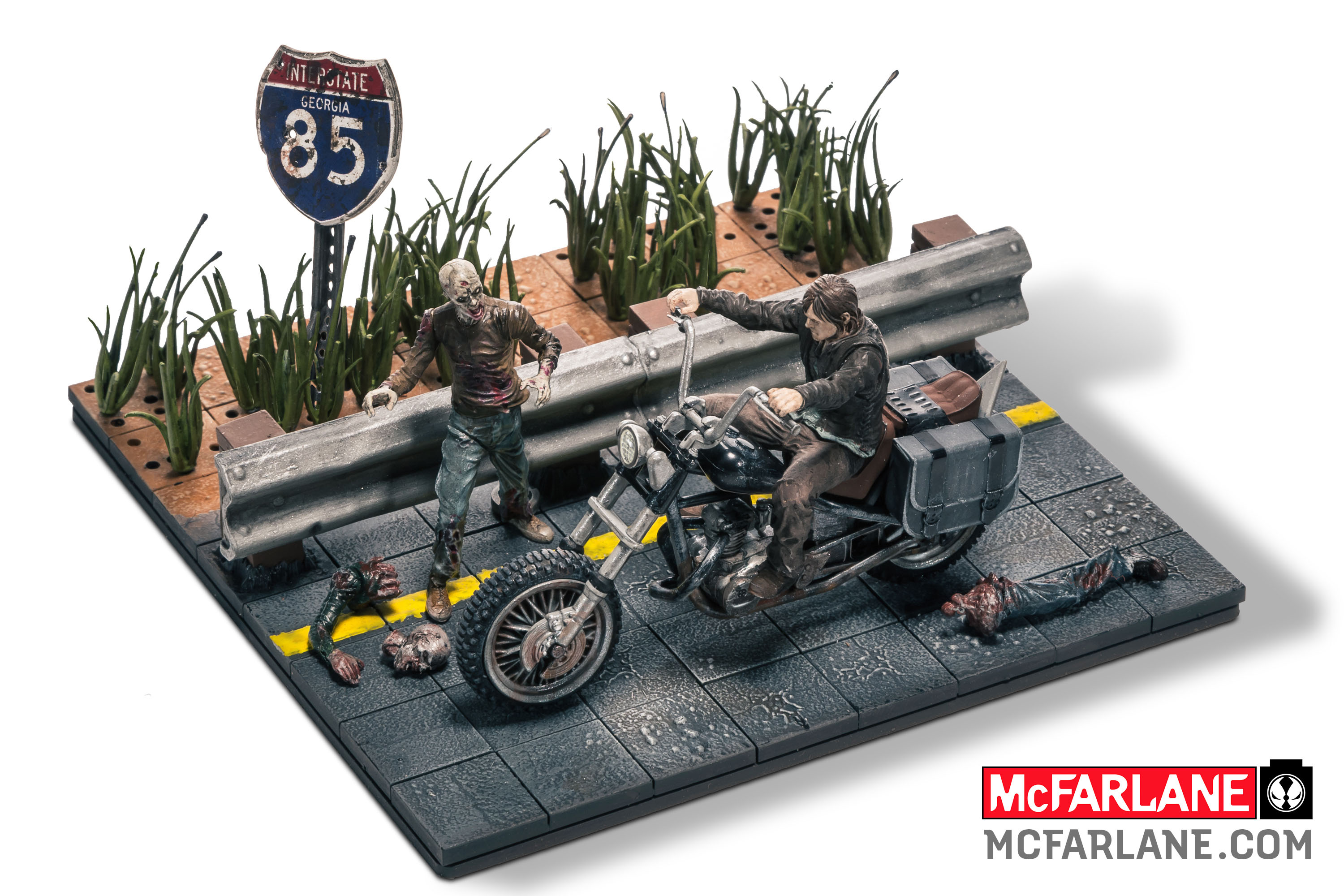 Walking dead lego daryl the walking - Mcfarlane Toys Launching The Walking Dead Building Block Sets Additional Images