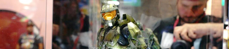 SDCC 2014 Play Arts Kai Master Chief 001