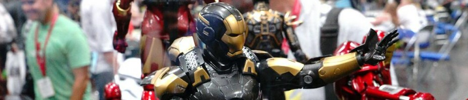 SDCC 2014 Sideshow Hot Toys Display 009