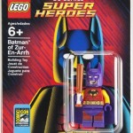 SDCC 2014 lego batman minifigure exclusive