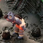 SDCC Alien ReAction Egg Chamber Play Set 3