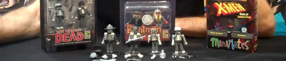 SDCC Exclusive Minimates by Diamond Select Toys