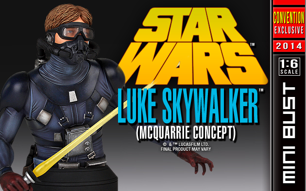 SDCC Luke Skywalker Concept Mini Bust 012