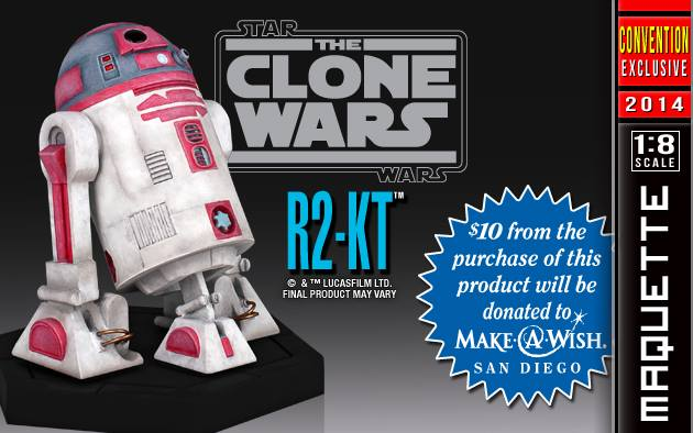 SDCC Star Wars R2 KT Maquette 006