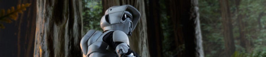 Scout Trooper Star Wars Sixth Scale Figure Preview