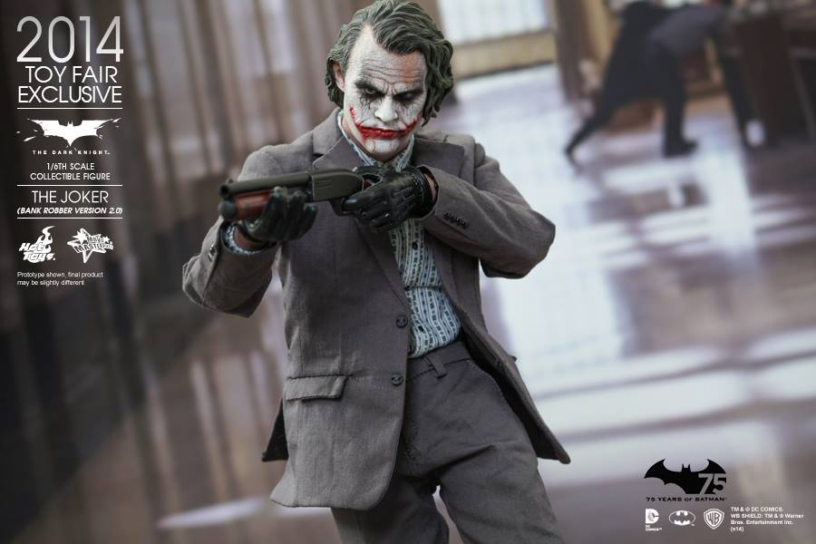 The Dark Knight The Joker 2 0 Bank Robber Version 003