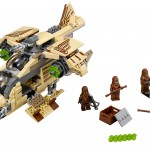 lego sdcc 2014 Wookie Gunship starwars rebels