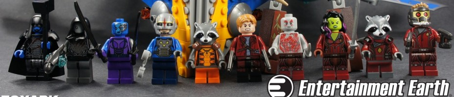 001 LEGO Guardians of the Galaxy Rocket Milano Starlord Groot