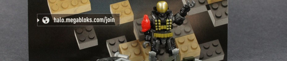 014 MEGA BLOKS SDCC 2014 Exclusives Halo Call of Duty