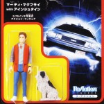 Back to the Future Marty McFly ReAction Figure
