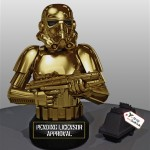 Gentle Giant Golden Stormtrooper Bust