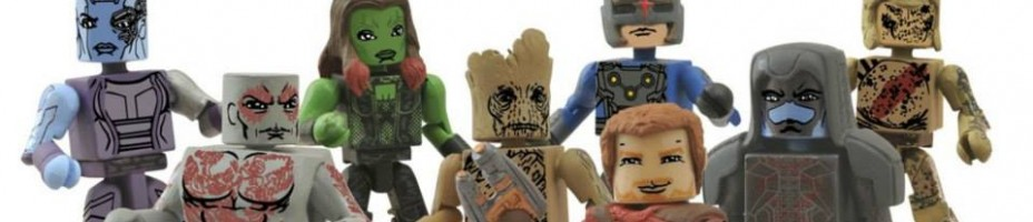 Guardians of the Galaxy Minimates Comic Shop Series