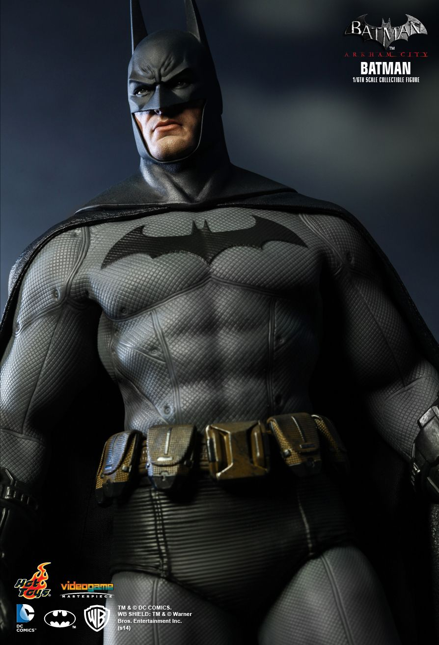 hot toys arkham city batman fully unveiled the toyark news. Black Bedroom Furniture Sets. Home Design Ideas