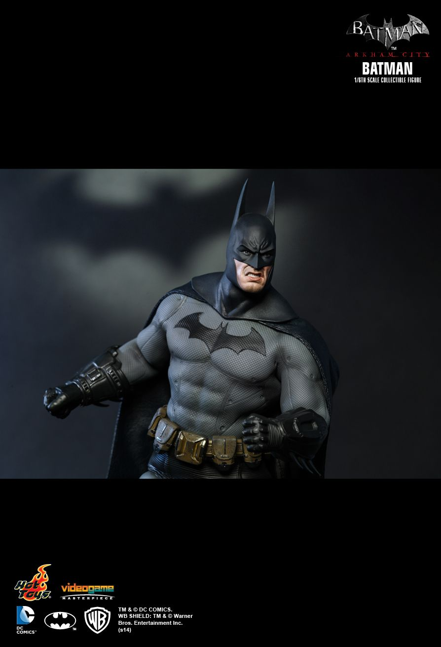 Hot Toys Arkham City Batman Fully Unveiled - The Toyark - News