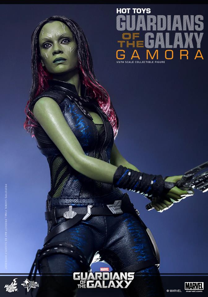 Hot Toys Guardians of the Galaxy Gamora 005
