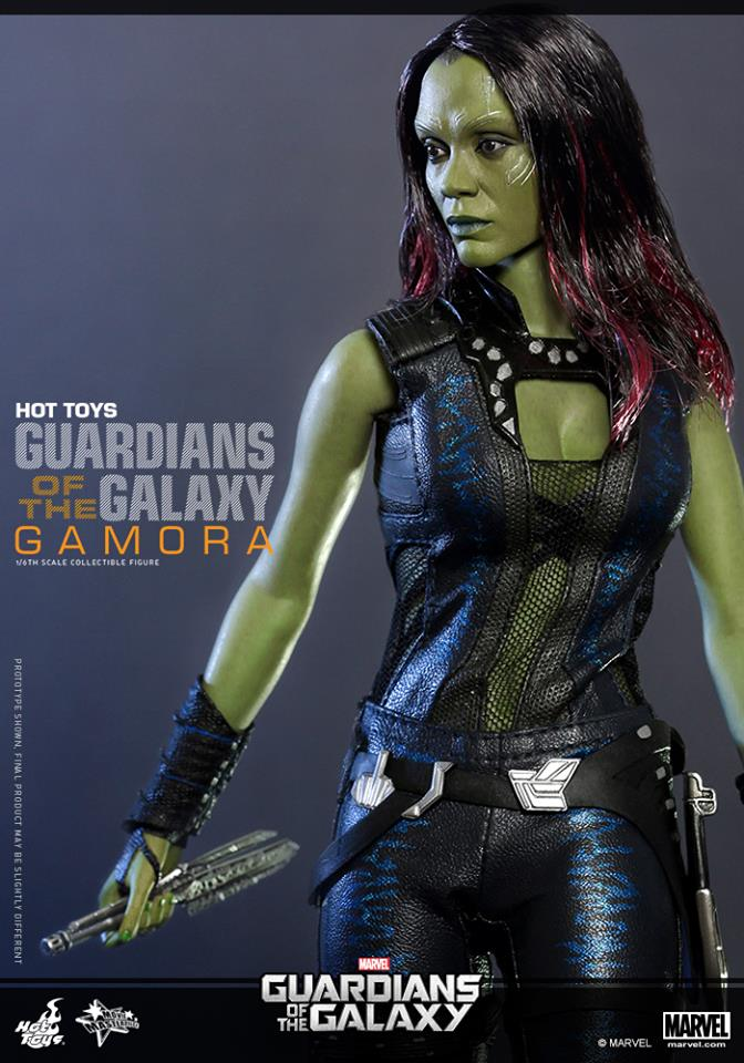 Hot Toys Guardians of the Galaxy Gamora 006