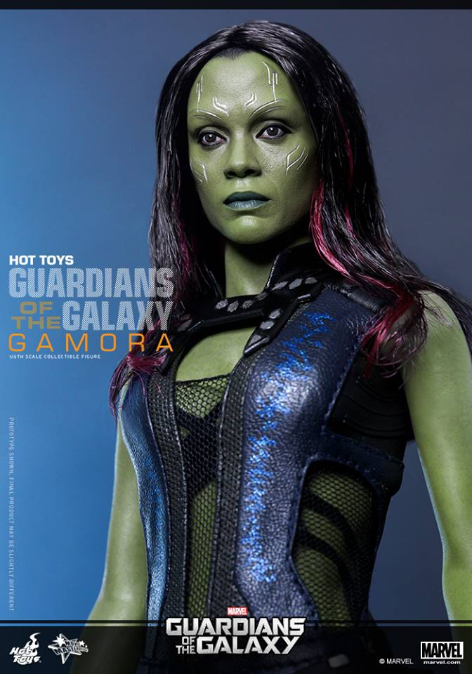 Hot Toys Guardians of the Galaxy Gamora 010