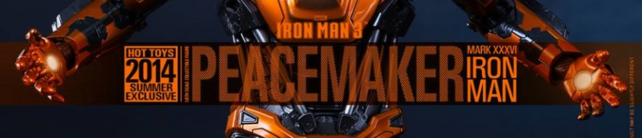 Hot Toys Iron Man 3 Peacemaker Armor 001