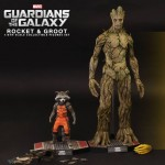Hot Toys Rocket and Groot Collectible Set