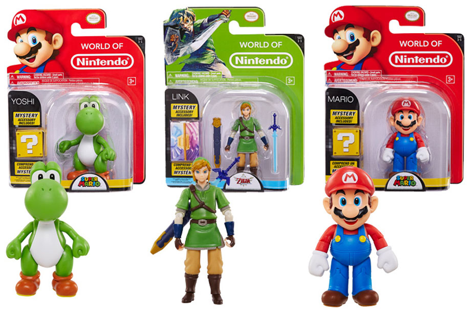Jakks Pacific World of Nintendo 4 Inch Figures