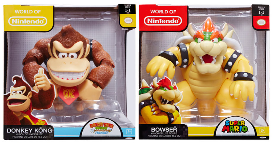 Jakks Pacific World of Nintendo 6 Inch Figures