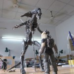 NECA Alien Queen Behind The Scenes