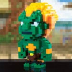 Pixel Bricks Tails Street Fighter Blanka 4