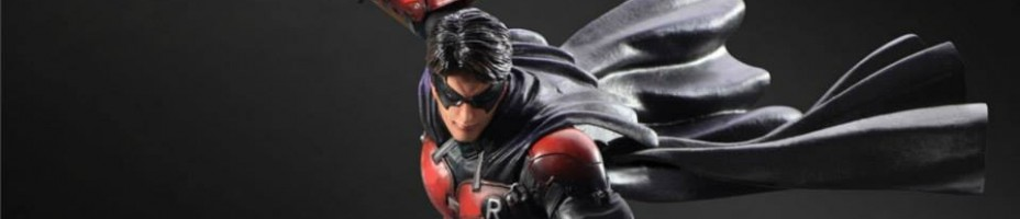 Play Arts Kai Arkham Origins Robin 001