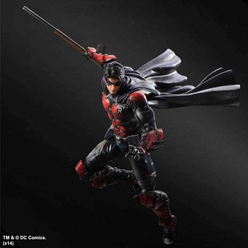 Batman Arkham Origins Play Arts Kai Batman and Deathstroke ...
