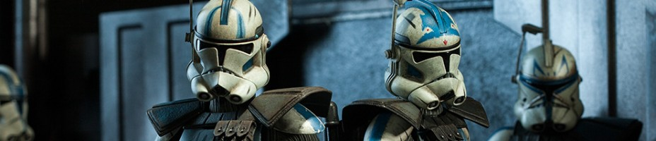 Sideshow Arc Clone Troopers Echo and Fives Figures Preview