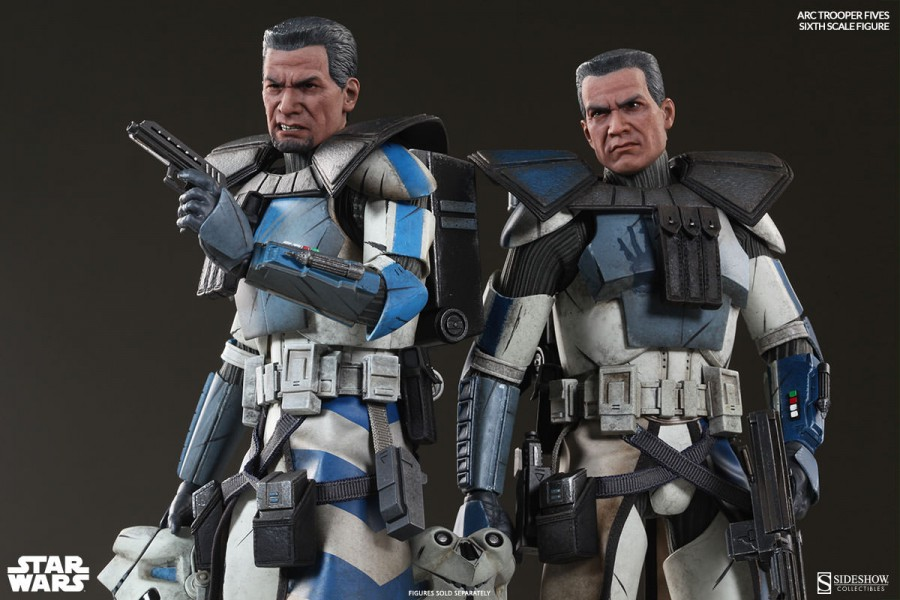 [Sideshow] Star Wars: Arc Clone Troopers - Echo and Fives Sixth Scale Figures Star-Wars-ARC-Clone-Troopers-Sixth-Scale-Figures-1