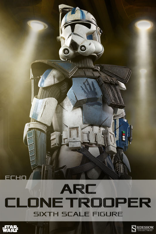 [Sideshow] Star Wars: Arc Clone Troopers - Echo and Fives Sixth Scale Figures Star-Wars-Echo-ARC-Clone-Trooper-Sixth-Scale-Figures-001