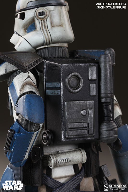 [Sideshow] Star Wars: Arc Clone Troopers - Echo and Fives Sixth Scale Figures Star-Wars-Echo-ARC-Clone-Trooper-Sixth-Scale-Figures-004