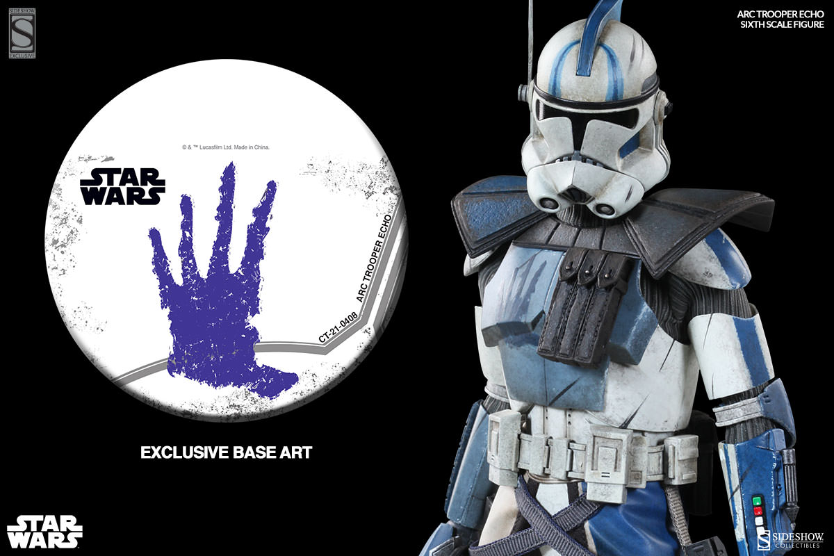 [Sideshow] Star Wars: Arc Clone Troopers - Echo and Fives Sixth Scale Figures Star-Wars-Echo-ARC-Clone-Trooper-Sixth-Scale-Figures-010