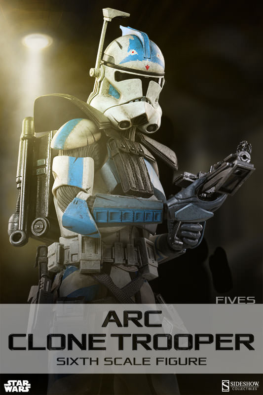 [Sideshow] Star Wars: Arc Clone Troopers - Echo and Fives Sixth Scale Figures Star-Wars-Fives-ARC-Clone-Trooper-Sixth-Scale-Figures-001
