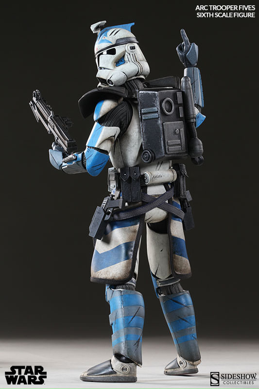 [Sideshow] Star Wars: Arc Clone Troopers - Echo and Fives Sixth Scale Figures Star-Wars-Fives-ARC-Clone-Trooper-Sixth-Scale-Figures-004