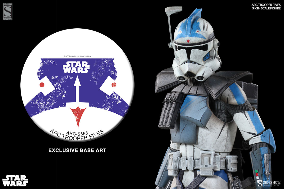 [Sideshow] Star Wars: Arc Clone Troopers - Echo and Fives Sixth Scale Figures Star-Wars-Fives-ARC-Clone-Trooper-Sixth-Scale-Figures-010