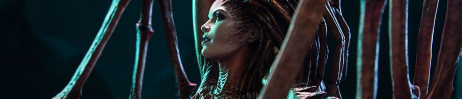 Starcraft II Kerrigan Queen of Blades Statue 002