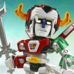 Super Poseable Action Figure SD Voltron 003