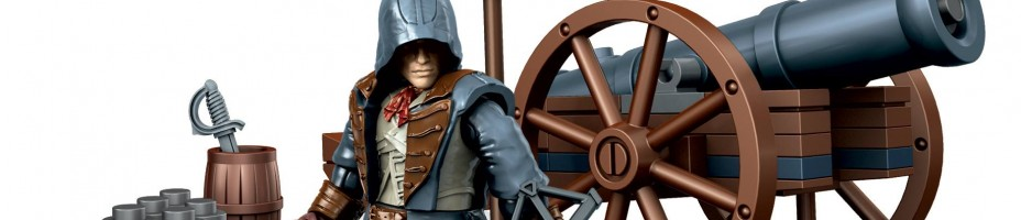 cannon Arno Dorian assassins creed mega bloks