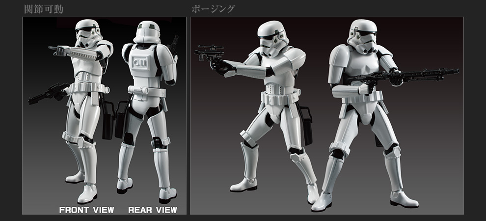 new images and info for bandai hobby star wars model kits - the