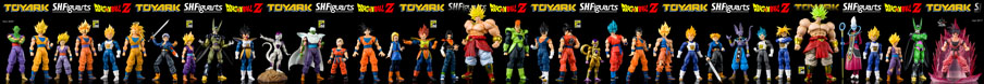 SH Figuarts Dragonball Z Check List All Figures