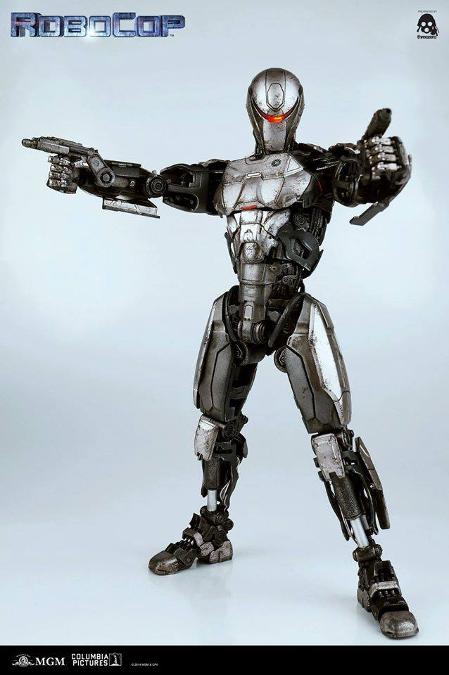 threezero robocop em208 military enforcement robot the