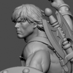 He Man Mixed Media Statue Preview