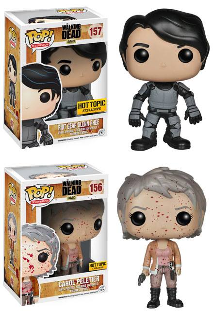 Hot Topic Exclusive Riot Gear Glenn And Bloody Carol