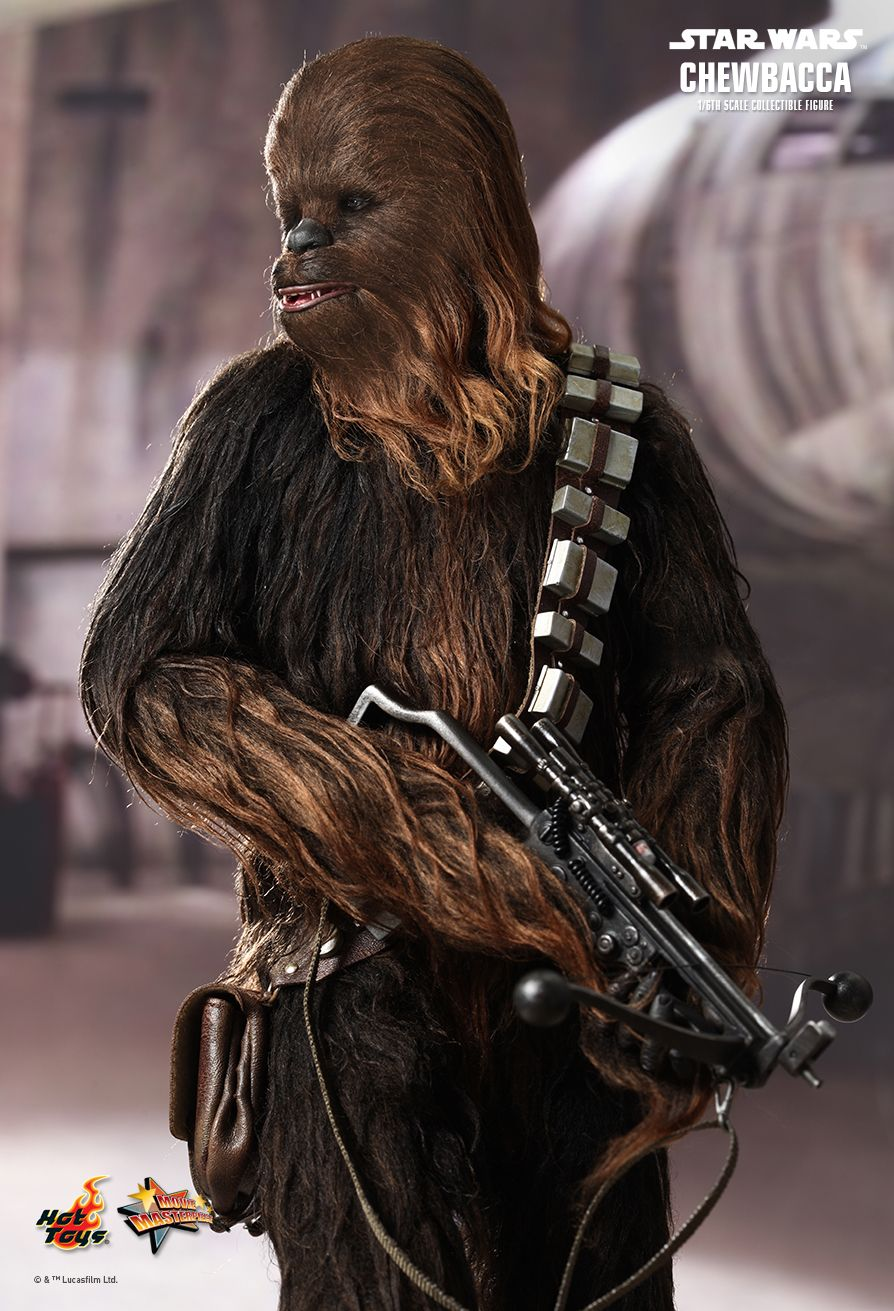 hot toys star wars goes live chewbacca and han solo the toyark news. Black Bedroom Furniture Sets. Home Design Ideas